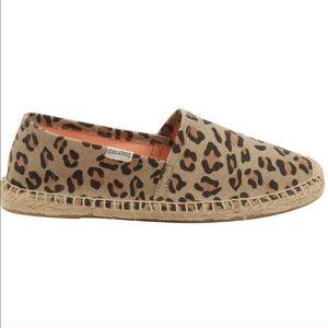 Soludos Dalí Cheetah Leopard Printed Espadrilles